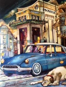 Le Louxor Paris 146x114 cm Hst.